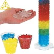 Радужные кристаллы (полный набор с цилиндром и красителями)