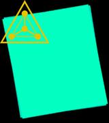 Светящаяся бумага формат А5 (1 шт.+УФ фонарик)